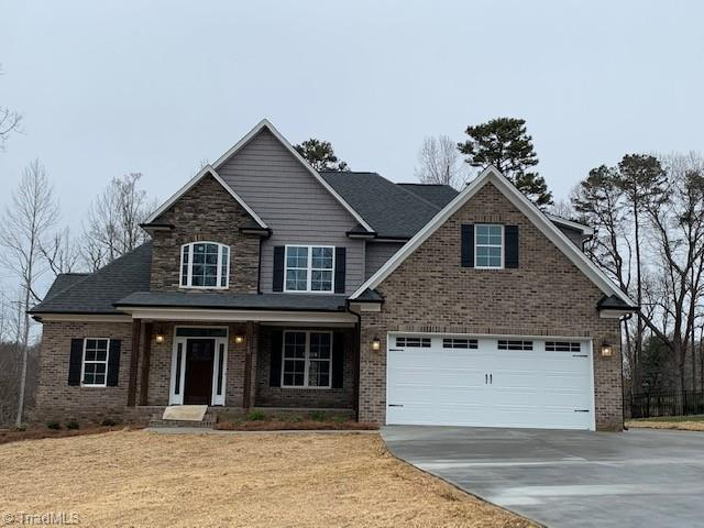 PICS Similar To--Stunning New Construction In North Davidson's Premier New Neighborhood On Outskirts Of Winston Salem.   BUY NOW & CUSTOMIZE! Enjoy Larger Lots And Lower Taxes. Minutes From WS, Hospitals & Mall Area.  An Entertainers Dream. With Open Kitchen, Living & Dining Area. Main Level Master With Double Trey Ceiling Also Features A Spa-Like En-suite With Garden Tub & Large Walk-in Shower. Beautiful Hardwoods In The Living Areas & Modern Finishes With Pleasing Trim Throughout. Granite Counter Tops In Kitchen & Bathrooms. Walk Out Unfinished Basement
