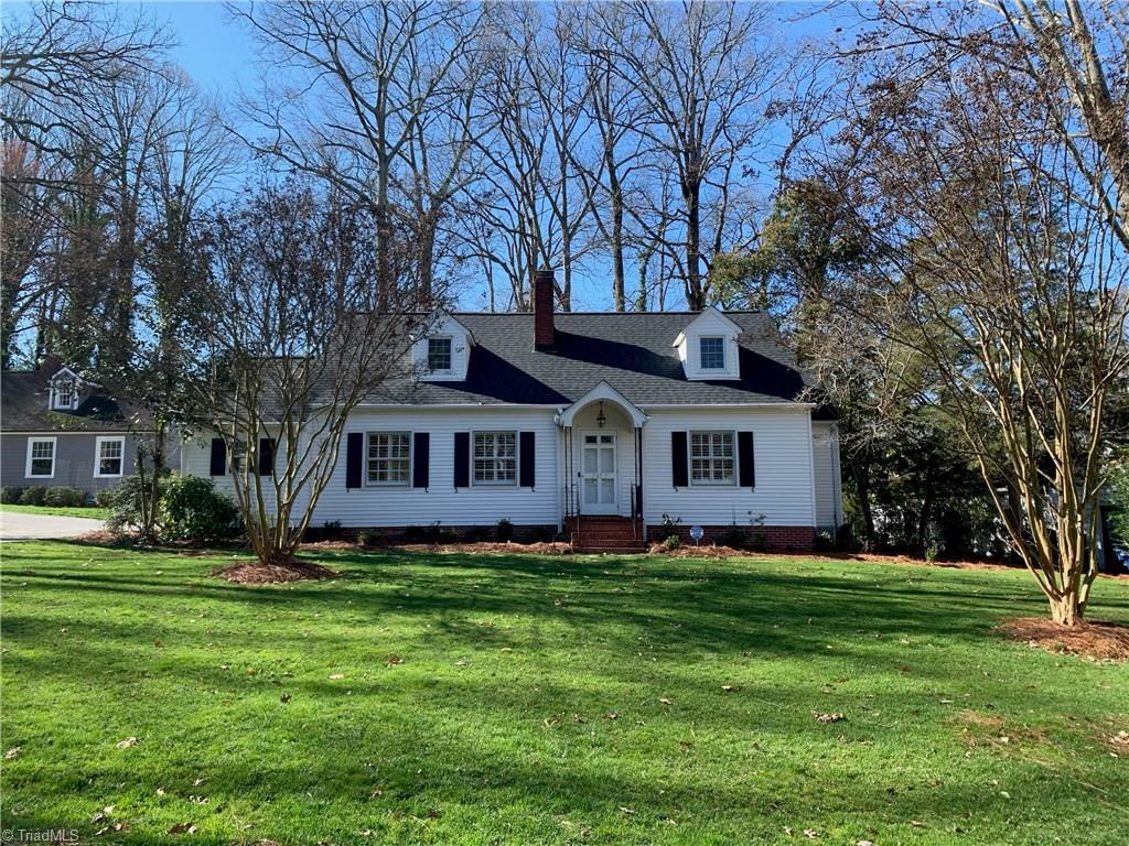 Lovely 4 bedroom, 2 bath cottage in the heart of Buena Vista. Formal & casual spaces including living room, dining room, & study w/ separate entrance. Updated kitchen opens to family room, newly stained deck, & tidy fenced yard w/ landscape lighting. Surprising amount of storage. Charming entry, convenient oversized one car garage, & 2 laundry spaces. Waterproofed basement. Walking distance to Whitaker Elementary, Diamondback Grill, & Buie's Market.  - ask for extensive list of upgrades and improvements!