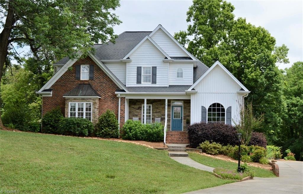 Looking for the perfect combination of a charming and practical home? And a spectacular 1+ acre lot?! This four bedroom 2.5 bath home has a wonderful floorplan plus expansion potential on the lower level. Current owners have transformed the backyard into a tranquil gardeners oasis! Recent kitchen upgrades include new backsplash and granite countertops. Custom wood paneling added to an upstairs bedroom and bathroom. Trex wood deck. Lower level covered seating area with custom built fire pit and pizza oven. This is the perfect home to enjoy a peaceful eveni