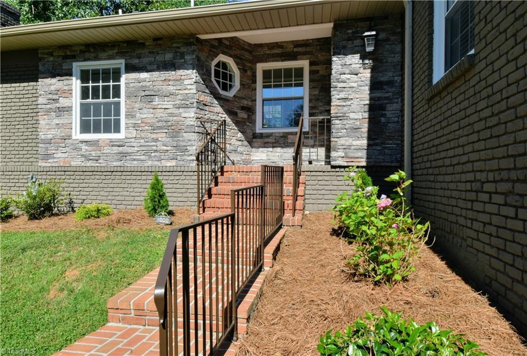 Completely transformed and surprisingly spacious in Buena Vista! This home boasts three bedrooms and three full baths. Vaulted ceiling in living room and large picture window. Thoughtfully designed office off living room. Oversized primary suite with seating area and decorative fireplace. Kitchen opens to private deck. Gorgeous lighting throughout this home. Lower level includes spacious den, ample storage and garage parking. Walking distance to Hanes Park, and multiple restaurants and cafés including Bobby Boy and Caviste!