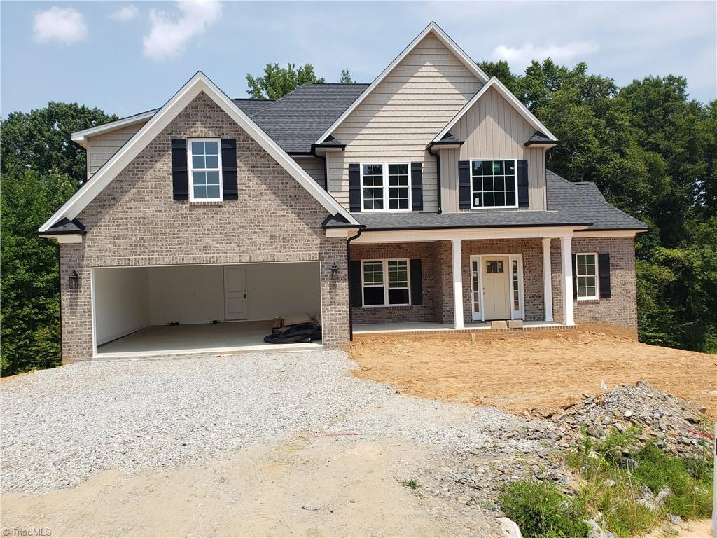 Finish In 30 Days. Stunning New Construction In N Davidson's Premier New Neighborhood & Only Minutes To WS. Enjoy Larger Lots, Low Davidson Cty Taxes, Convenience Of Shops, Dining, Hospitals & HWY's. Main Level Primary Suite & 2nd Main Level BR. Primary Suite features Dbl Trey Ceiling, P Bath Has Garden Tub & Tiled Shower, Dbl Vanity & Big WI Closet. Formal DR Boasts Coffered Ceiling. Kitchen Open to Brkfst Area & Great Rm. Stainless Steel M-wave, D-wash & Gas Range. Granite C-tops & Recessed lighting. Hardwood Flooring Mostly On Main Lvl. Carpet In Bedrm
