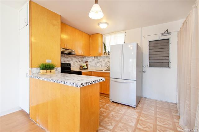 Best priced 3 bedroom condo in town! Enjoy the cool breezes in this 3 bedroom 1.5 bath unit in Moiliili. Conveniently located next to a park and close to UH Manoa, Waikiki, Ala Moana, freeway and bus routes.  Secured building, pool, community laundry on each floor, & pet friendly for dogs!  Perfect for the first time home buyers that needs the space!