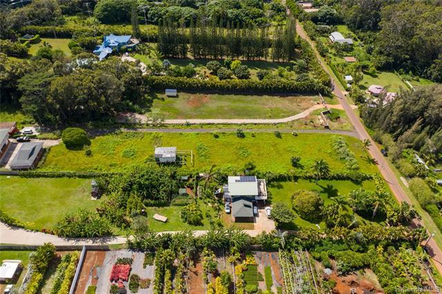 Great opportunity for someone looking for value at a great price! Build your dream home on a full acre and create immediate value or improve the shack that is there now. Nestled at the top of quiet and tropical Pupukea sits this 1 acre CPR lot.  If you are looking for some space and serenity while staying in proximity to world famous surfing and beaches Pupukea is it. Please do not bother occupants, do not enter property.