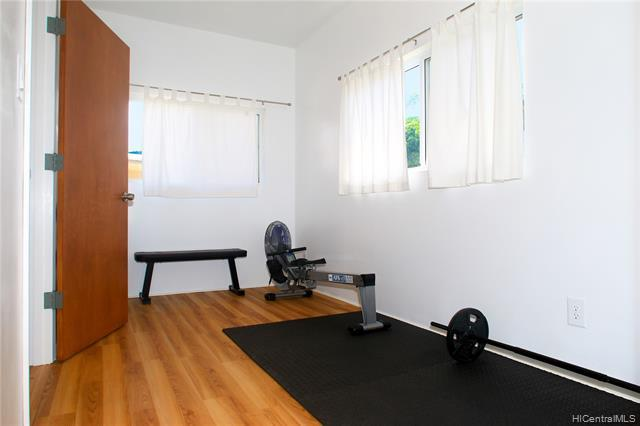 Another look at the spacious and bright Main Bedroom Suite currently used as a home-gym.