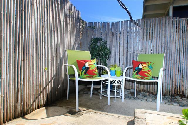 Fully fenced backyard is just perfect for the morning coffee, herb gardening, pets or other creative hobbies.