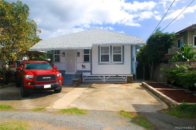 2913 A Koali Road. Wonderful single family home w. 3 car parking and gardening beds in the front.
