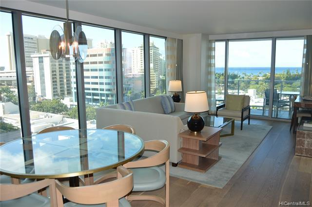 Enjoy spectacular ocean, mountain, pool and city views from this luxurious, corner unit at The Ritz