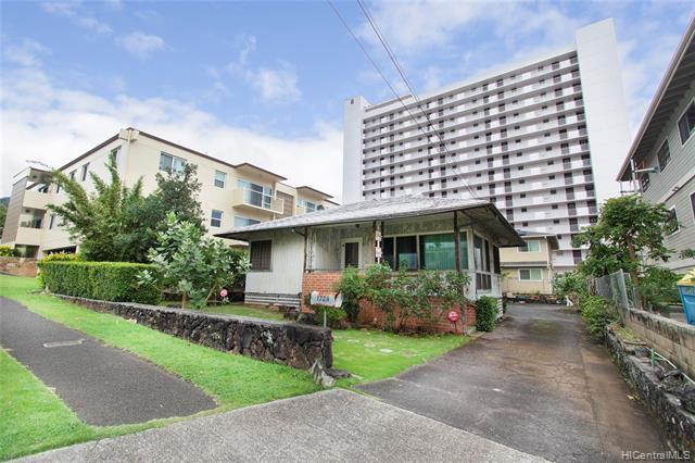 "NEW LISTING!!  An extremely RARE opportunity to own a 5,300 sq. ft. A-2 zoned level lot conveniently located in the heart of Makiki!! Fantastic development possibilities! Just minutes from parks, restaurants, shopping and entertainment. Don't miss this gem as it won't last long!! The existing home needs major repair and sold ""as is"". Shown by appointment only. Do not enter property without an appointment."