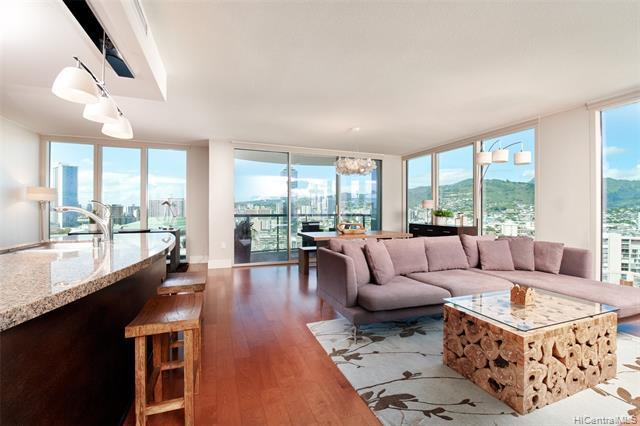 Welcome to the luxurious Allure Waikiki in the heart of Honolulu! This corner 2 bedroom 2 bath unit