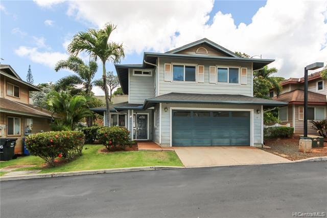 Immediate Occupancy!! Showings start 7/14/2020 Watercolors in Kapolei this   comfortable modern, single-family home with newer appliances, enclosed garage.  Spacious  4 bedrooms,  two full baths and one half bath. Private fenced yard, covered lanai, split AC .  Garage parking only-limited to two cars. No Smoking, No Sec 8 ,  Pets Negotiable.  Quick and easy application process.  Don't miss out! Renters Insurance required. Apply online  $ 25 application fee per adult.