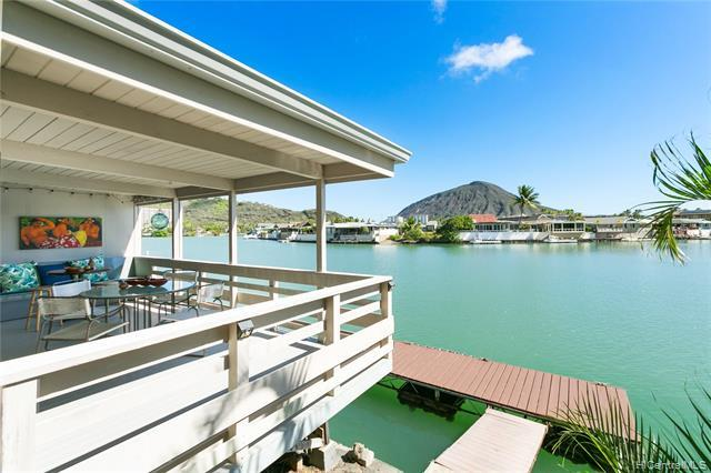 Gorgeous, serene marina-front home with boat dock, split A/C system, large lanai on wide part of mar
