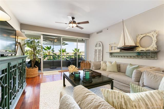Enjoy coming home to highly coveted Kalele Kai, a gated community in Hawaii Kai that makes you feel