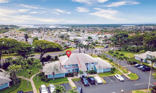 NEW LISTING! Rarely Available 2 bedroom 2 bath 750 sqft unit with 2 parking stalls right next to each other! Features include pet friendly building, washer/dryer in the unit, private covered lanai, large park around the corner, ample guest and street parking nearby & much more!  Hoomalu at Waikele is located minutes away from Waikele Shopping Center, shopping, restaurants, parks and schools! A MUST SEE! *Note: Interior photos were taken prior to tenants moving in.