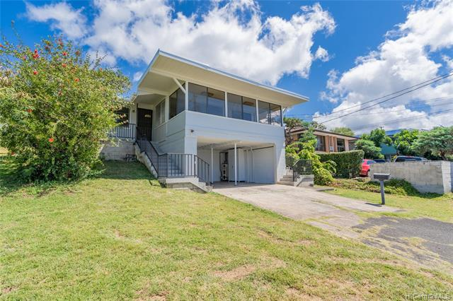 NEW LISTING! RARELY Available single family home on Sea View Ave in Lower Manoa! This 4 bedroom and 2 bath home sits on almost 6,400sqft of land with a beautiful city view & Diamond Head views! Sea View Ave is conveniently located just a couple minutes from freeway access, the University of Hawaii, schools, parks & more! A Must See!