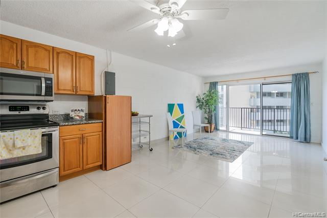 Come see this move in ready, 2 bedroom, 1 bath corner unit at Nanihala. Enjoy easy freeway access and the convenience of living nearby Kakaako, Ala Moana, & Downtown Honolulu. A great value for any buyer looking to be in town. The building has a pool, community laundry, and is PET-FRIENDLY!
