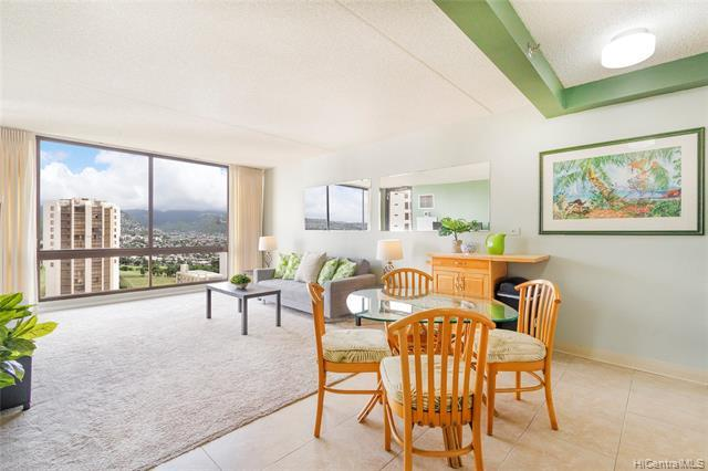 NEW LISTING in Waikiki! This IMMACULATE 1 bed/ 1 bath/ 1 parking condo in the Waikiki Sunset is fresh and clean and ready for you to move right in! Soak in the gorgeous views of iconic Diamond Head, Waikiki city lights and Ala Wai Golf Course.  Live the good life in your very own piece of paradise just steps from world famous Waikiki Beach, fantastic eateries, shopping, nightlife and more! Building has excellent amenities including huge recreation deck, heated pool, BBQ areas, tennis courts and saunas. Perfect for owner occupant or investor, this unit allows for 30+ day rentals. SEE THIS ONE NOW BEFORE IT'S TOO LATE!