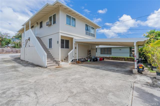 NEW LISTING!  Don't miss this versatile 6 bdrm/4 bath 2-story home in convenient Kaimuki. With 2,204 sq. ft. of interior living space, this home offers 3 bdrms/2 baths on the first level and 3 bdrms/2 baths on the upper level with separate entry, perfect for extended family living or investment opportunity.  Features include fresh exterior paint and 32 owned PV panels with net metering agreement. Ideally located just minutes from Kaimuki town with restaurants, parks and shopping. Don't miss this fantastic opportunity.