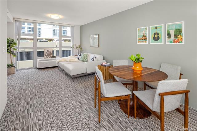 VA APPROVED. 3br/2ba layout with two assigned side-by-side parking stalls! This unit includes luxury