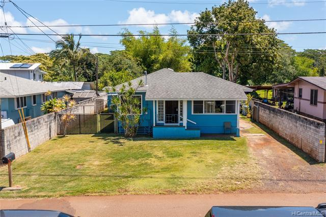 NEW LISTING!! Rarely available spacious 6 bedroom 2 bath multi family home in Whitmore Village. Got a big Ohana this home has a lot of room to fit everyone or live in one and rent the other. The home backs to vacant land for added privacy. This hidden gem in 2015 upgraded it's electrical, replaced the roof, installed new vinyl plank flooring and much more. With just a little more TLC you can make this your dream home. This is a must see!