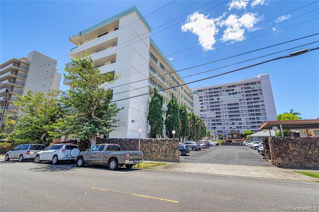 A RARE find!! Come enjoy panoramic views and cool mountain breezes at this gem! Nestled in the heart of Makiki, this penthouse unit features an unheard of 2300 sqft interior, high ceilings, and 2 large lanais totaling over 600 sqft! Enjoy Single family home feel without the stress of single family maintenance in this large 3 bdrm +1 flex room that can be used as another bedroom or office, 2ba, huge living room and offset dining room area, and an eat-in dining area with cool breezes and mountain views. This unit also has an additional separate unit entrance and the master bedroom has it's own private lanai.  A chef's delight with large gas kitchen!  Electricity, gas, sewer and water included in the maintenance fee. Full size washer/dryer and