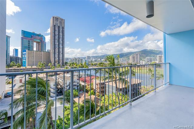 PRIME location in town! Conveniently located in Waikiki, close to Ala Moana, Downtown, Honolulu Zoo, and Waikiki Aquarium. Walk to the infamous restaurants, shopping centers, and all your favorite beaches! This well-maintained 2 bed / 2 bath unit comes with your own washer and dryer inside the unit, a covered parking stall just a few steps away from the secured building entrance, and a community swimming pool on the roof top for you to enjoy the panoramic Waikiki view. Set up a showing today!