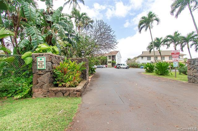 OPEN HOUSE Tuesday 9/7 10:00-1:00  Location, Location, Location! This is a one bedroom, two bath, third floor condo at Haleiwa Surf.  Located in Historic Haleiwa Town with clear ocean views and pristine white sand beaches just steps away from your front door. Walk to dinner and shopping in minutes or jump in the water to surf, swim, paddle or snorkel.