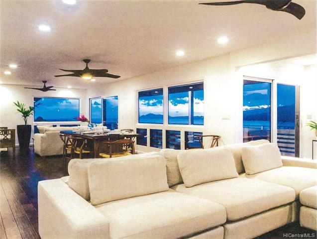 Breathtaking ocean views including views of Maunalua Bay, Diamond Head sunsets, rainbows, and the ma