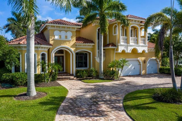 Located in Park Shore this custom built estate offers an abundance of space, and includes 4 bedrooms