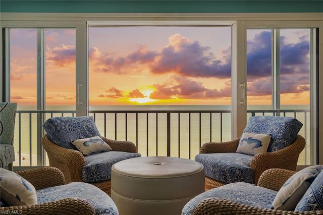 Spectacular Gulf, beach and bay views from this chic, luxury beachfront residence in the Gramercy, a