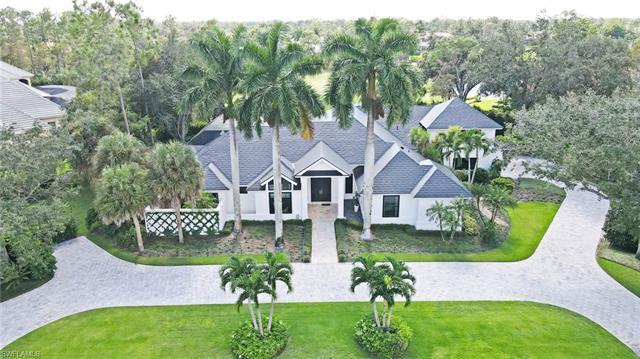 With a SouthWest view over golf course and lake, this 4-bedroom plus Den contemporary home has been