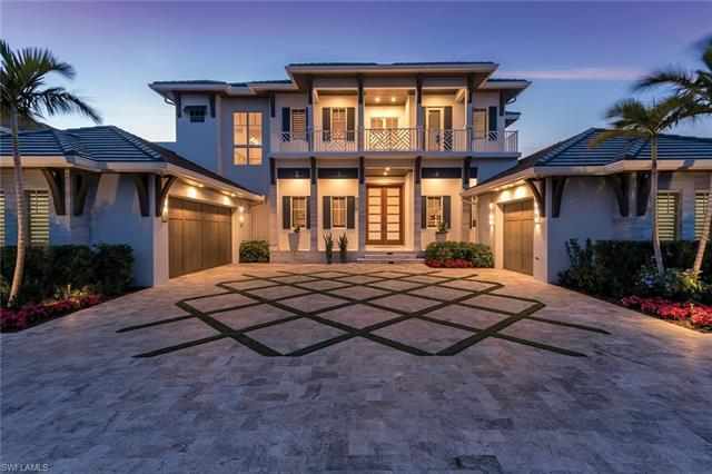 Beautiful lake views await you from this stunning new construction home in the desirable Park Shore