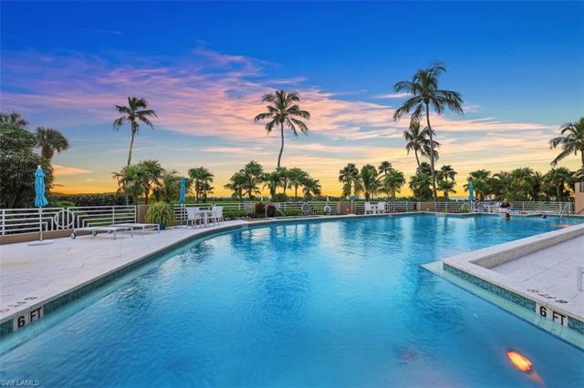 Live a care-free, posh, beachfront lifestyle in the upscale Park Shore area of Naples!  Move-in read