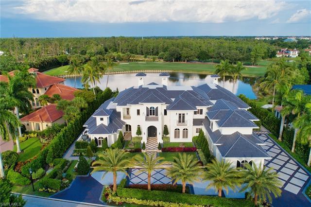 Virtually every aspect of this magnificent golf estate residing on a picturesque wide lake, golf and