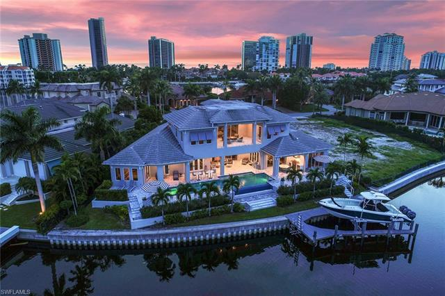 This residence is a sophisticated, waterfront retreat that reflects the miraculous incorporation of