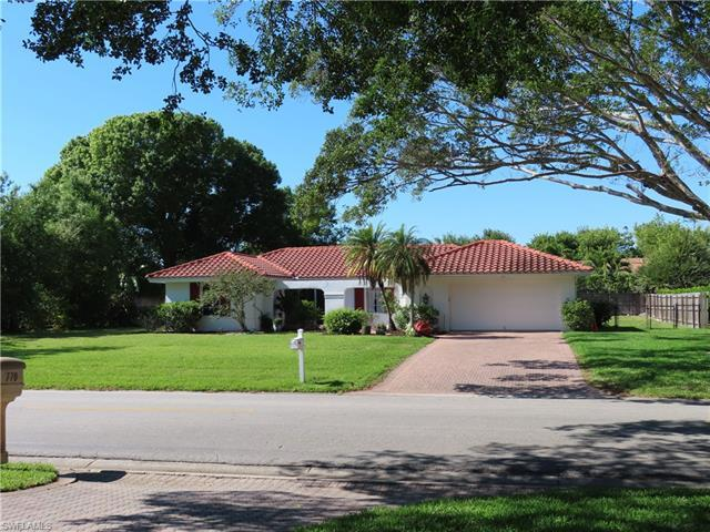 EXCELLENT HOME ON 110 FT WIDE LOT LOCATED ON BANYAN LINED ANCHOR RODE DRIVE. X FLOOD ZONE, EXEMPT FR