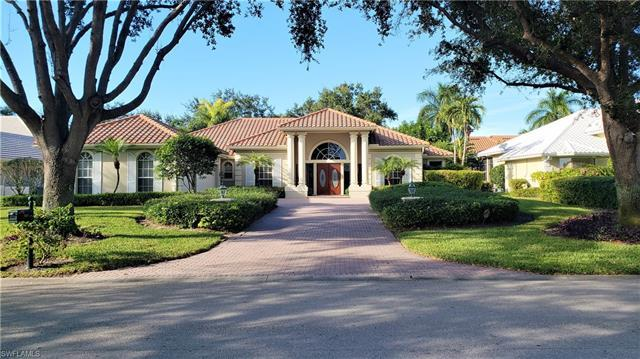 Long Panoramic golf course views!!! Exterior features a large screened Lanai overlooking the golf co