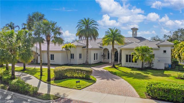 Extraordinary home for a large family or those who love to entertain in Naples' premier Quail West g