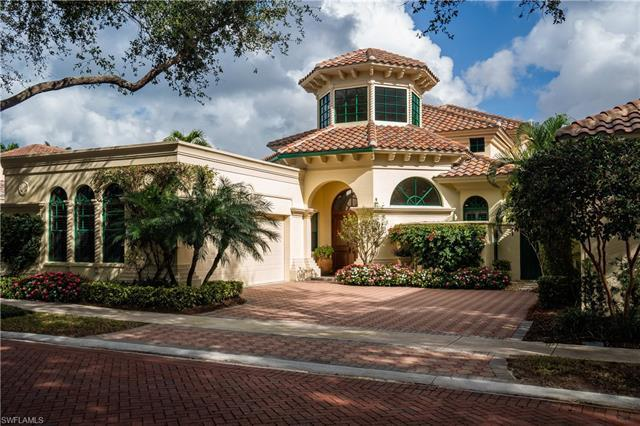 Beautifully remodeled Villa Vizcaya is nestled on the tree-lined streets in the exclusive and pictur
