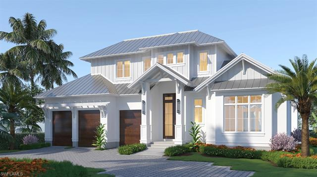 Crayton Road Development and Falcon Design have created an incomparable new transitional Old Florida