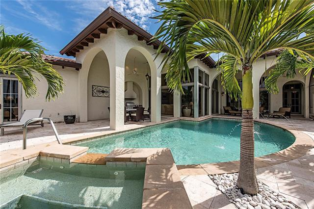 This bright and airy well-appointed villa resides on a fantastic private lake and golf view homesite