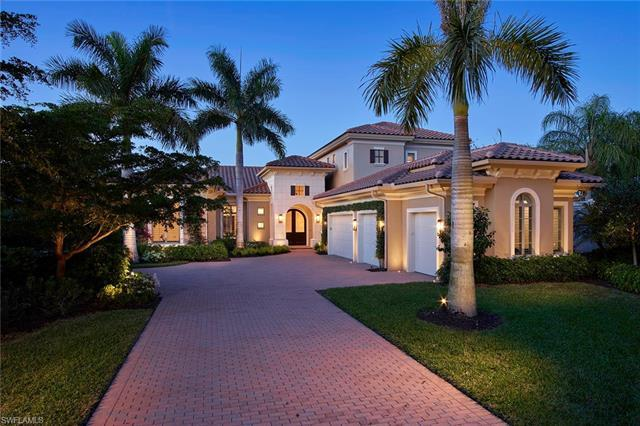 Nothing on the market in Grey Oaks compares to this custom villa in the quaint upscale Miramonte nei