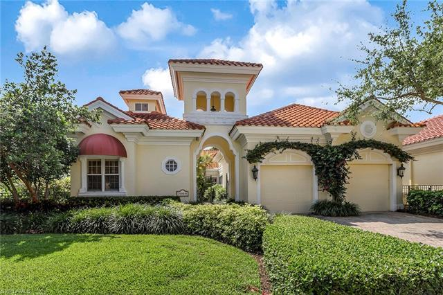 Welcome to this courtyard home in the exclusive gated community Isle Verde in Pelican Bay. This is y