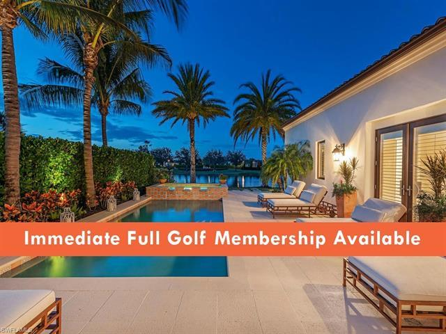 V.3001 - IMMEDIATE FULL GOLF MEMBERSHIP AVAILABLE! The epitome of casual elegance, this home's beaut
