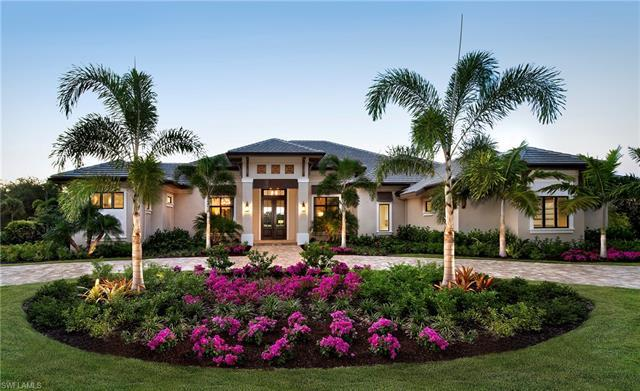 The Award winning McGarvey Custom Homes Barrymore Model is situated on a beautiful Quail West Golf C