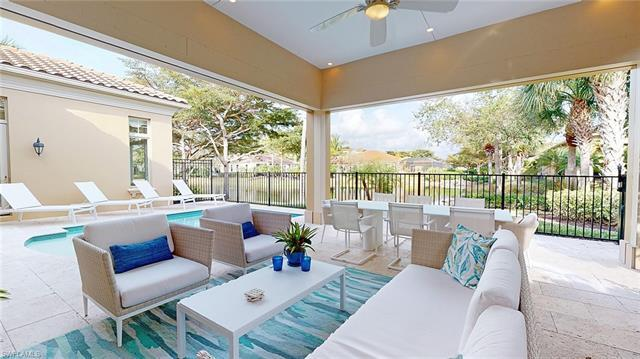 This absolutely stunning waterfront home in Torino at Grey Oaks is being offered fully furnished and