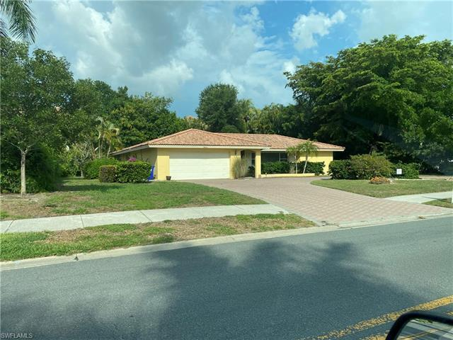 Excellent location close to Venitian village and Park Shore Dr. Property is being sold as lot value