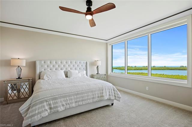 Floridian Beach Club available. Gulf views, new furnishings by Arhaus of Naples included, private el