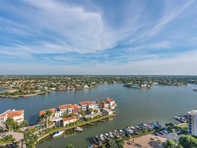 Views, Views, Views! Unobstructed panoramic views of Venetian Bay will take your breath away! This r