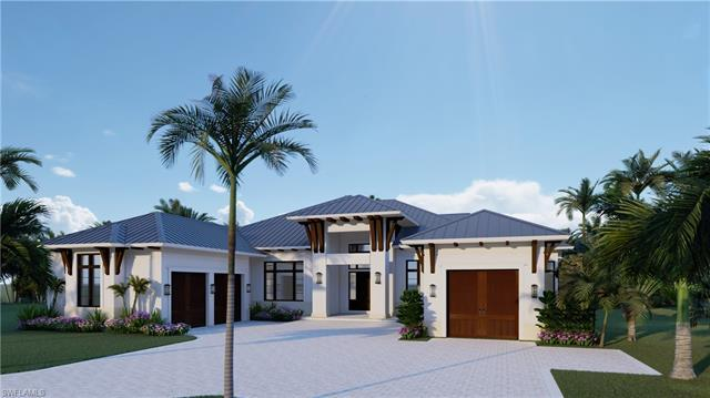 Enjoy the luxury lifestyle in this custom contemporary open concept home in the Moorings! Beautiful