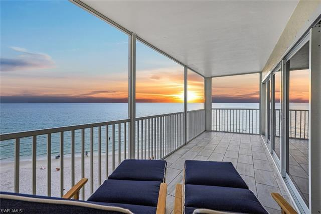 Enjoy the sound of the surf from this absolutely stunning renovation on the 5th floor end unit of th